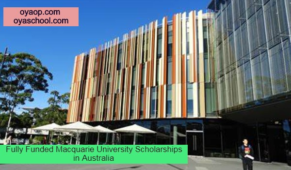 Fully Funded Macquarie University Scholarships in Australia