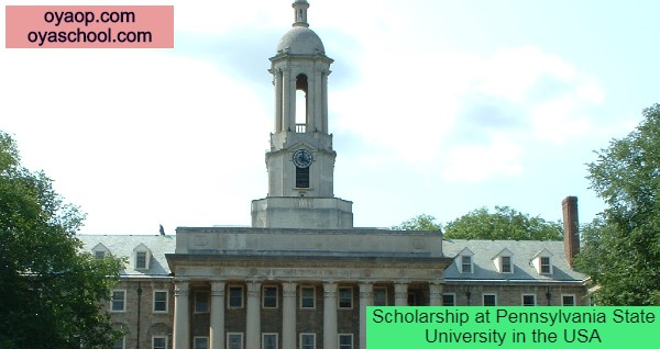 Scholarship at Pennsylvania State University in the USA
