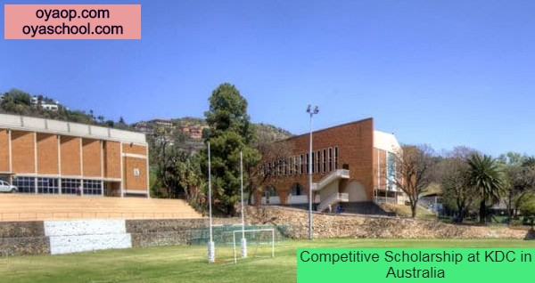 Competitive Scholarship at KDC in Australia