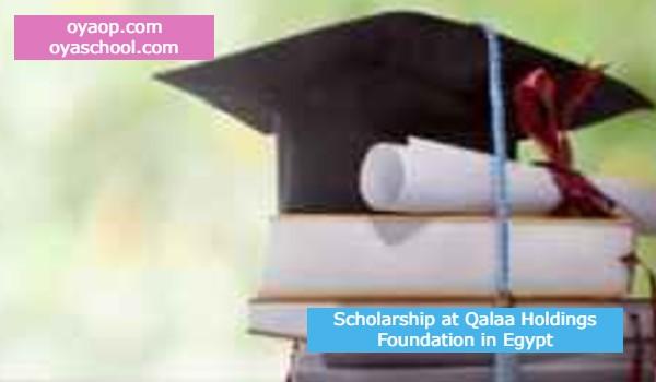 Scholarship at Qalaa Holdings Foundation in Egypt