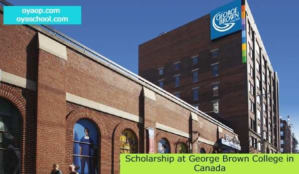 Scholarship at George Brown College in Canada