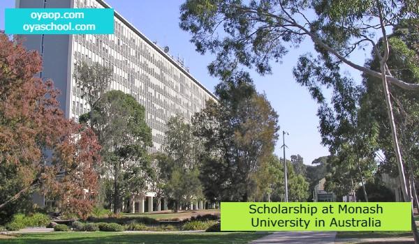 Scholarship at Monash University in Australia