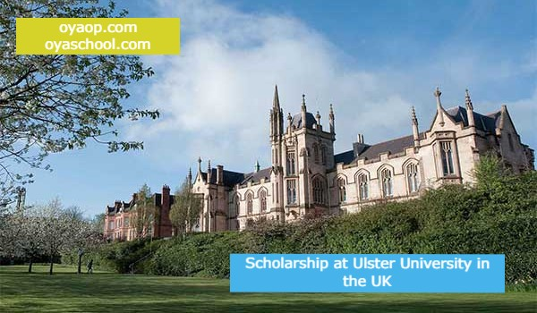Scholarship at Ulster University in the UK