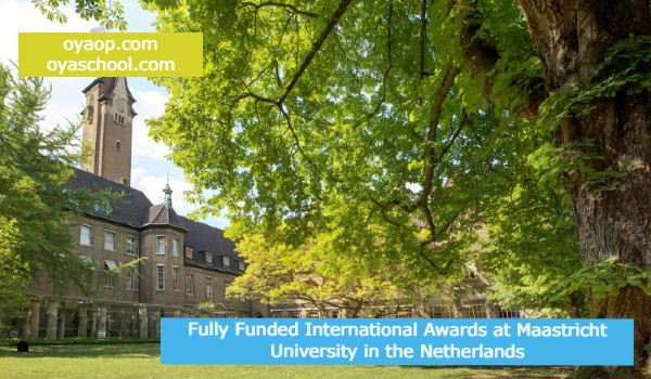 Fully Funded International Awards at Maastricht University in the Netherlands