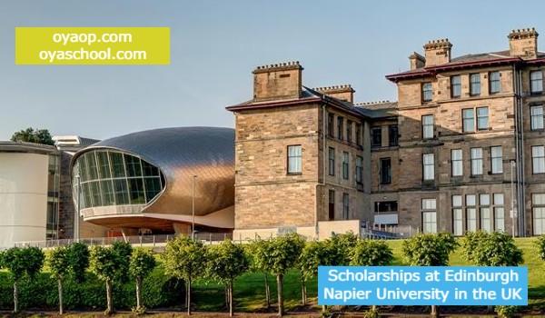 Scholarships at Edinburgh Napier University in the UK