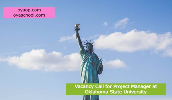 Vacancy Call for Project Manager at Oklahoma State University