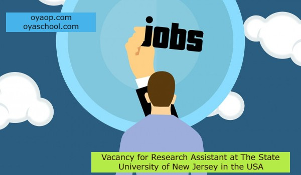 Vacancy for Research Assistant at The State University of New Jersey in the USA