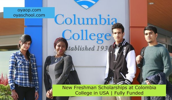 New Freshman Scholarships at Colombia College in USA | Fully Funded