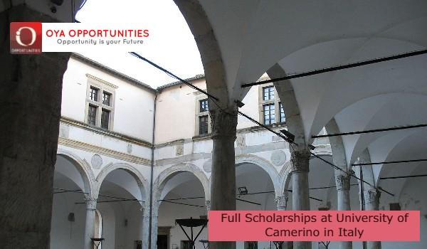 Full Scholarships at University of Camerino in Italy