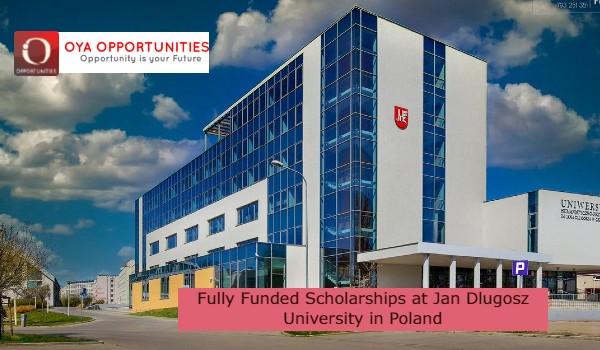 Fully Funded Scholarships at Jan Dlugosz University in Poland