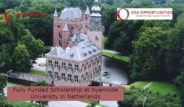 Fully Funded Scholarship at Nyenrode University in Netherlands