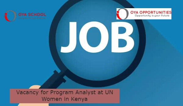 Vacancy for Program Analyst atUN Women in Kenya