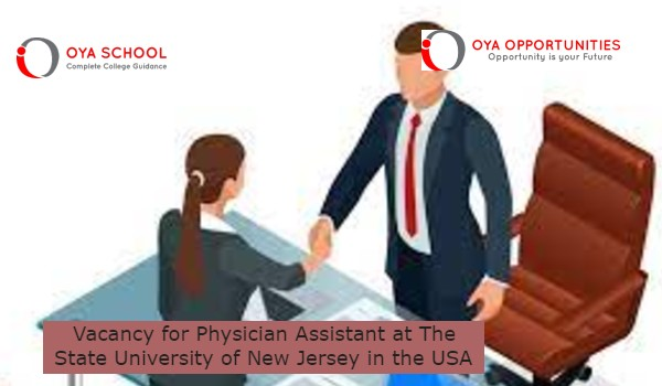 Vacancy for Physician Assistant at The State University of New Jerseyin the USA