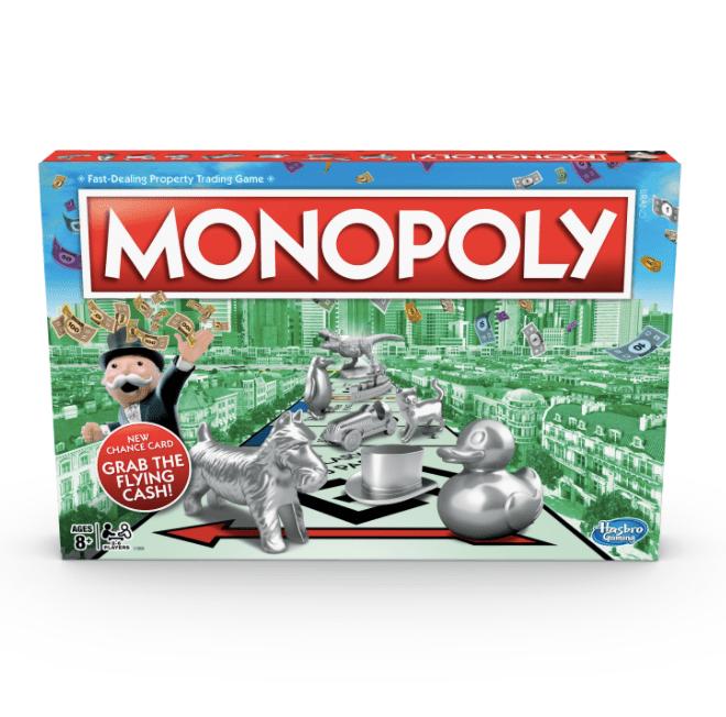 Hasbro juegos de mesa actividades familia monopoly