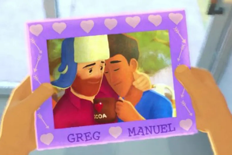 cortometraje pixar gay