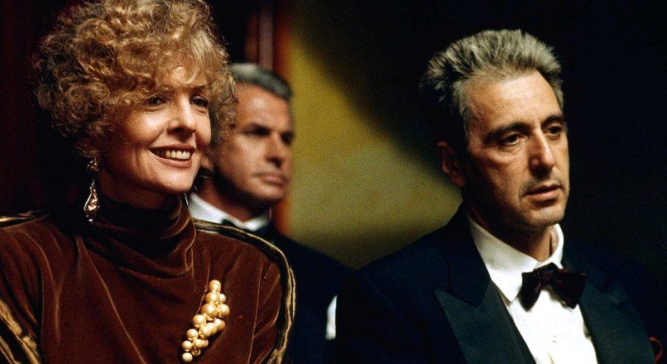 Godfather: Part III (1990)L to R: Diane Keaton, George Hamilton and Al Pacino
