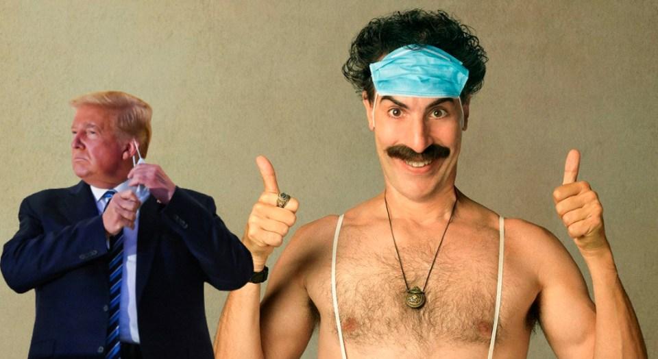 Borat Donald Trump
