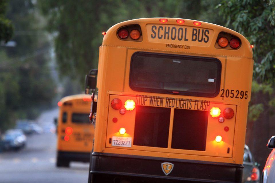 Travesura nivel: Arrestan a un niño de 11 años por robar y estrellar el camión de su escuela
