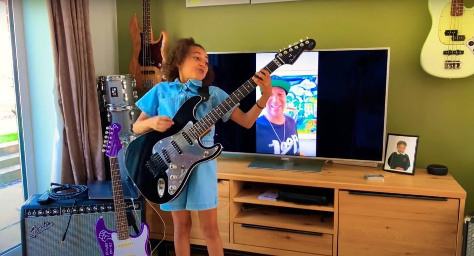 Nandi Bushell: La talentosa niña que está conquistando a la industria musical