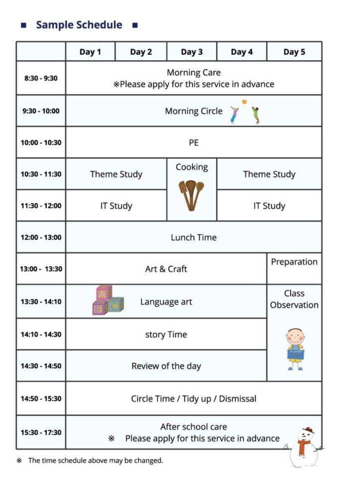 Winter Wonderland and Intensive Programmes