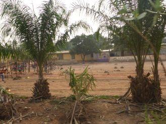 Tissage dans un village