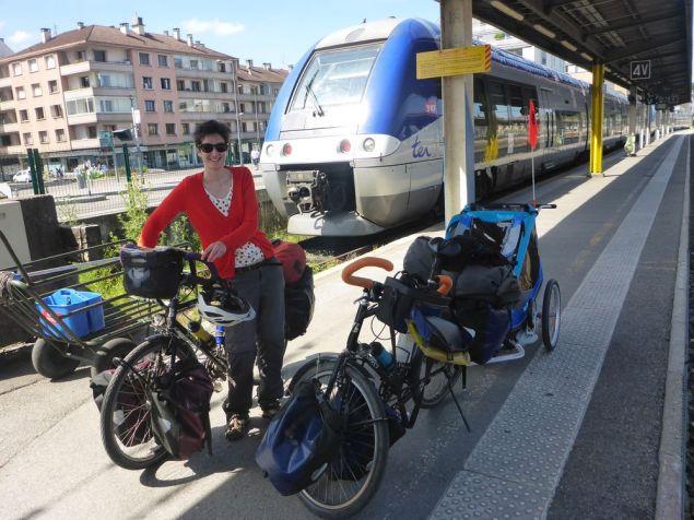 Arrivée à Annecy par le train | Arrival in Annecy by train