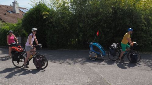Départ en vélo | Departure by bike