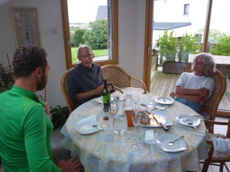 Trés bien accueilli chez Danièle et Jean-Pierre | Very well welcomed in Danièle and Jean-Pierre's home