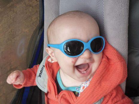 Allez, on met les lunettes de soleil
