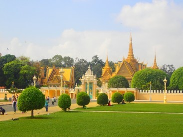 Phnom-Penh : palais royal | royal palace