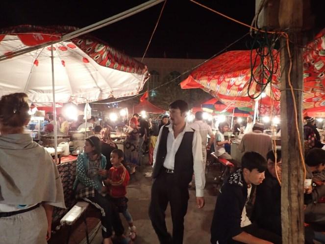 Kashgar : night market