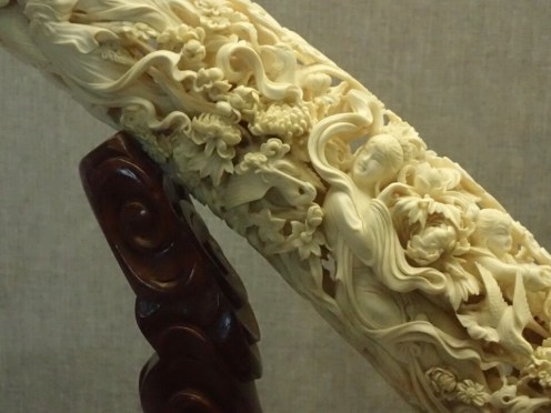 Guangzhou museum : ivoire | ivory