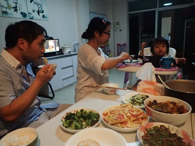 Repas en famille | Family dinner