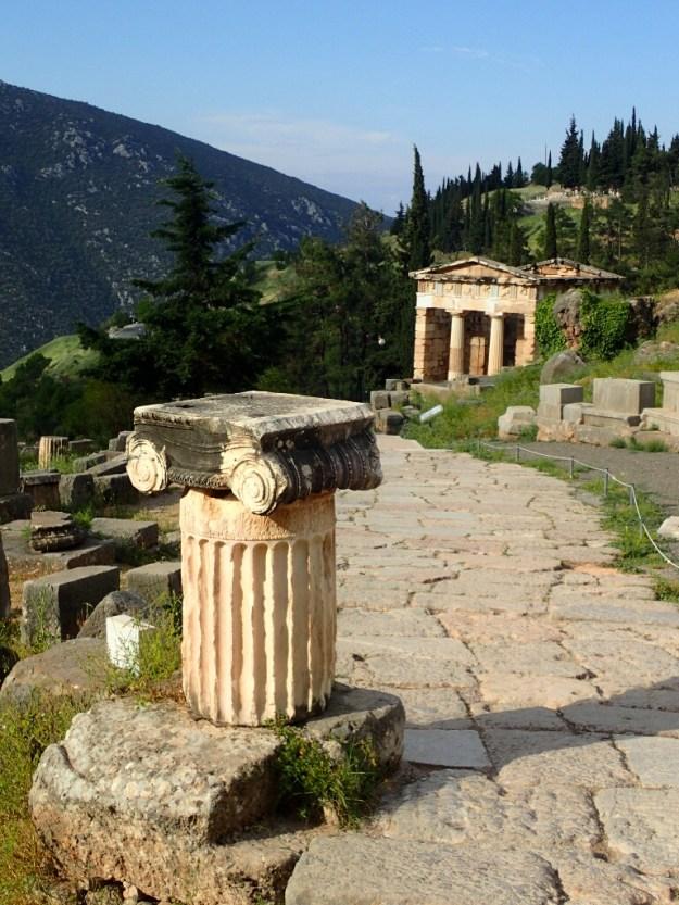 Trésor d'Athènes à Delphes | Athens treasure in Delphi