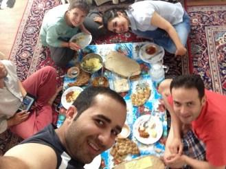 Mohamed, Sahar et Siavash