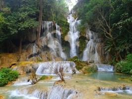 Chutes d'eau de Kuangsi | Kuangsi waterfall