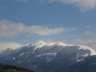 Montagne enneigee