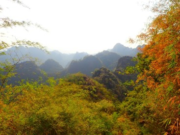Hpa-an : Vue du Mont Zwegabin | View from the Zwegabin mount