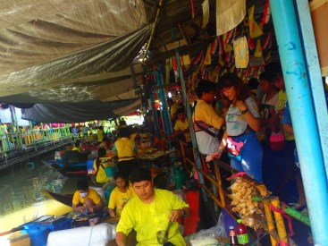 Ayutthaya : marché flottant | floating market
