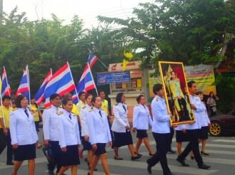 Ayutthaya : anniversaire du roi | King's birthday