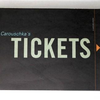 Carouschka's Tickets 世界各国の航空チケット集
