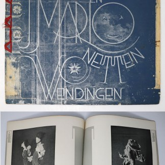 Wendingen:Series 9 1928 no.11:Puppets and marionettes