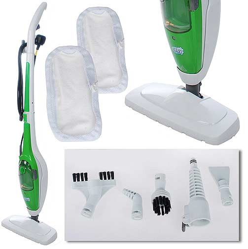 H20 Easy Steam 2 in 1 Steam Mop Set with Attachments  39