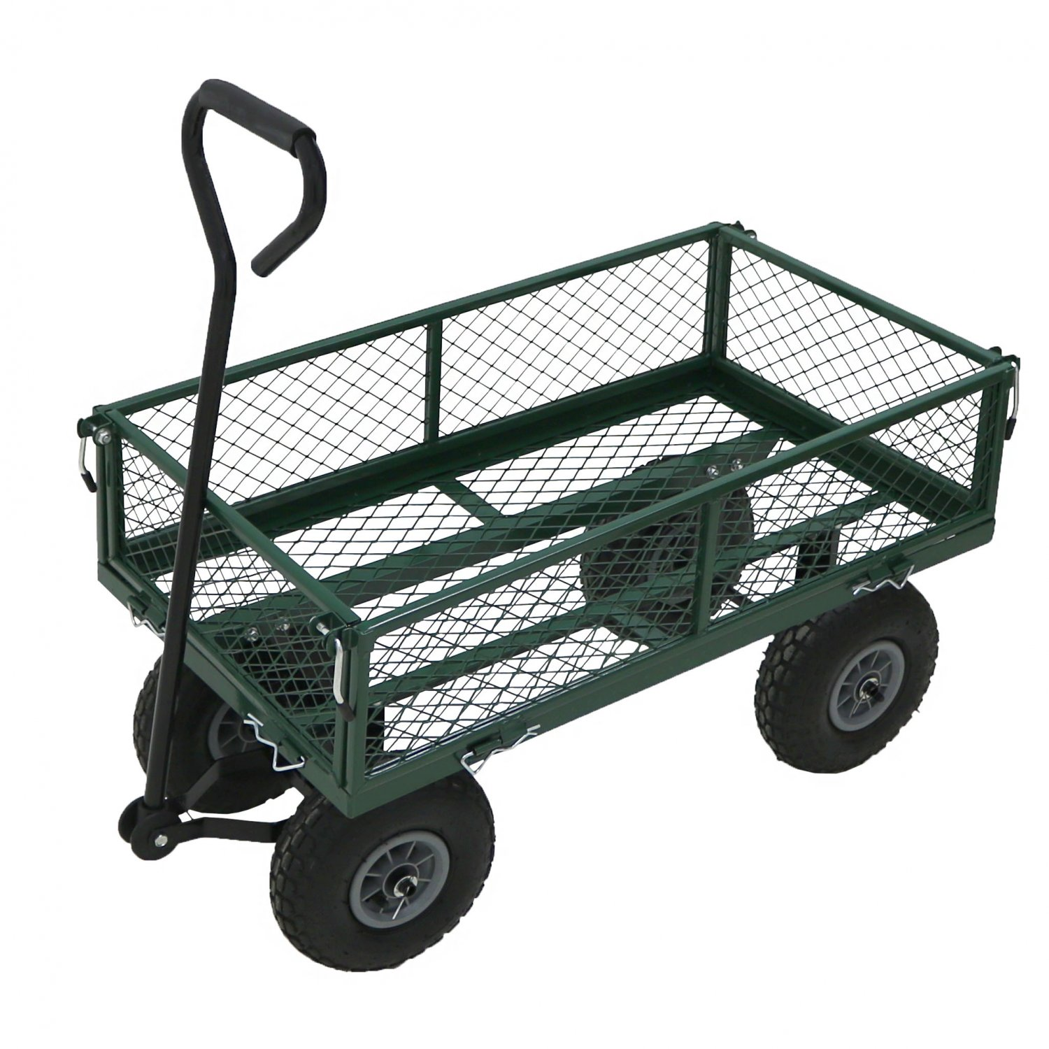 green chair 2005 trailer ostrich beach heavy duty metal gardening trolley cart