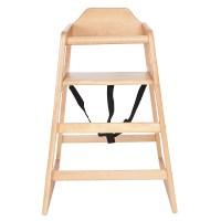 Kids Wooden High Chair - Natural - 24.99 : Oypla ...