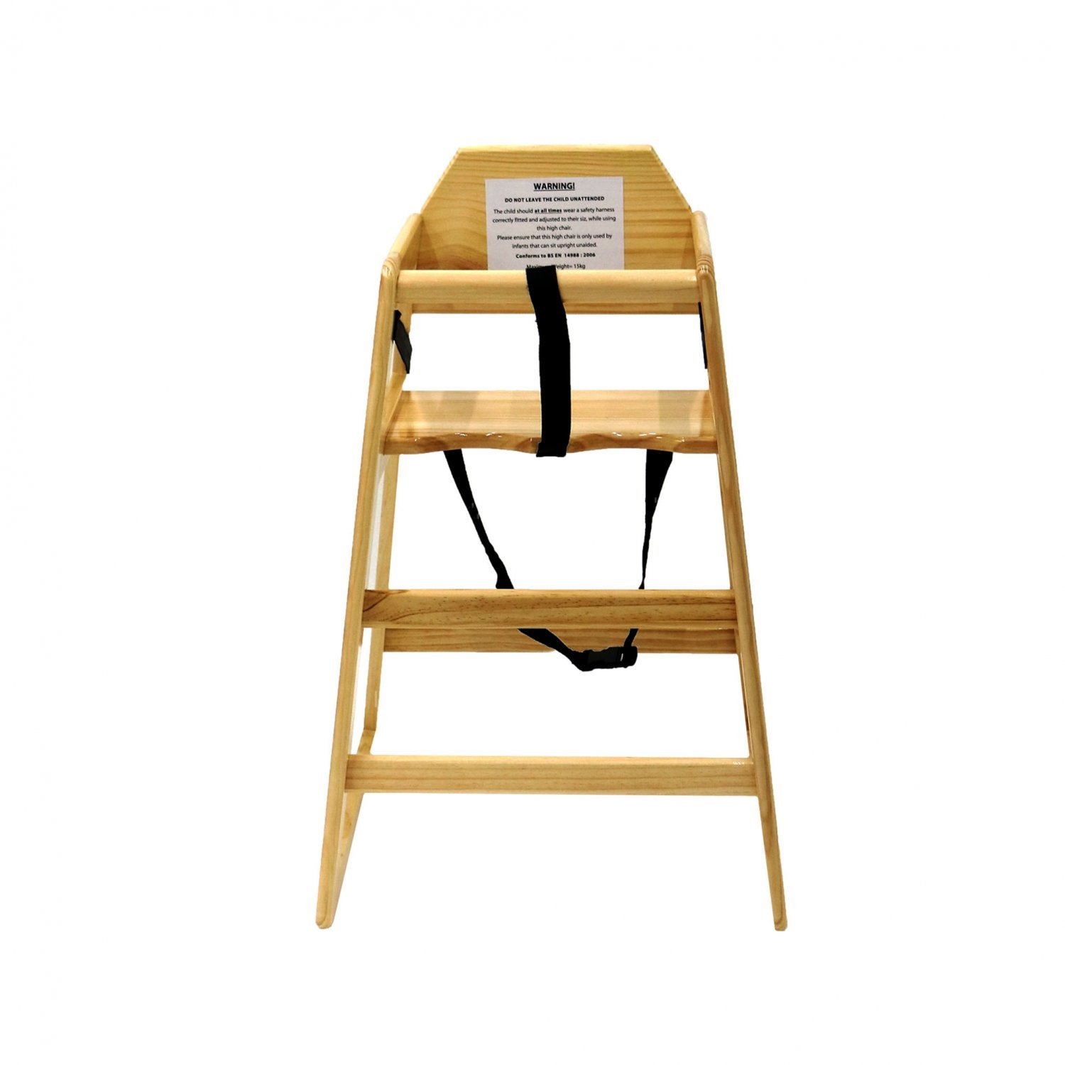 kids high chair inexpensive rocking chairs wooden natural 24 99 oypla