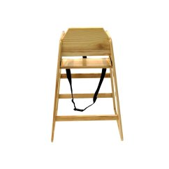 Kids High Chair Allen And Roth Patio Chairs Wooden Natural 24 99 Oypla