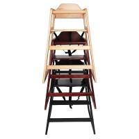 Kids Wooden High Chair - Black - 24.99 : Oypla - Stocking ...