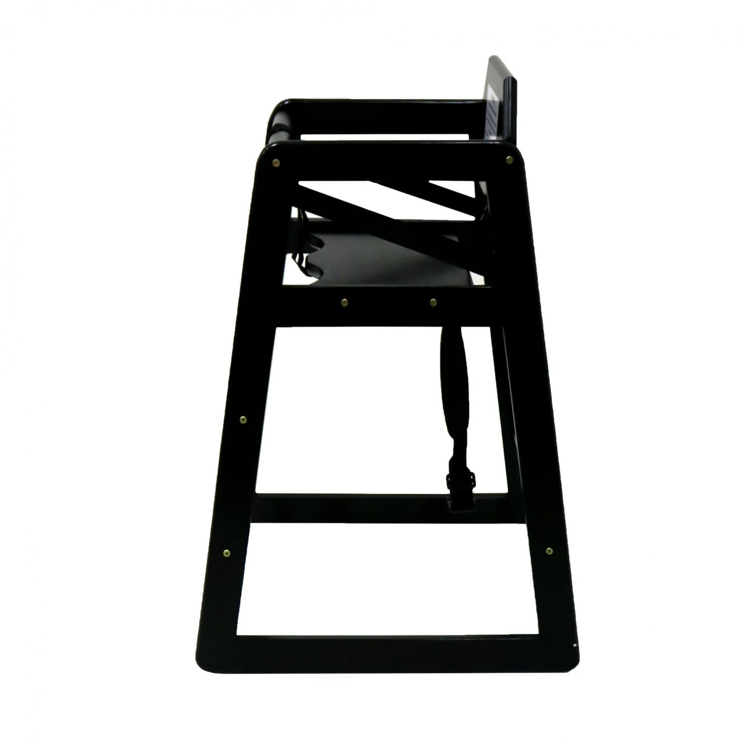 wooden baby high chairs uk outdoor bar chair kids black 24 99 oypla stocking