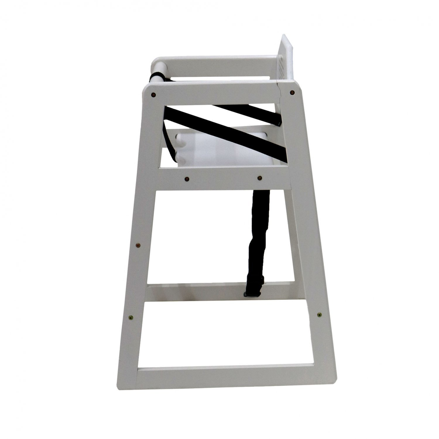 White Wood High Chair Kids Wooden High Chair White 24 99 Oypla Stocking